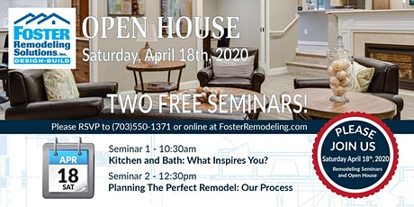 Open House and Free Remodeling Seminars tickets