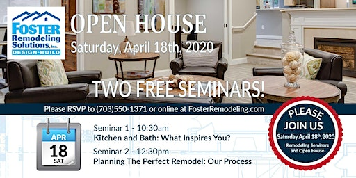 Open House and Free Remodeling Seminars