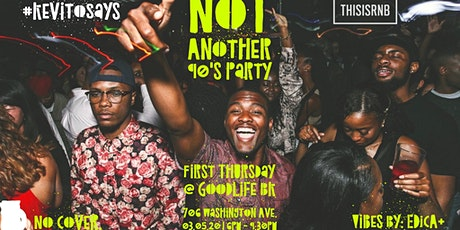 Not Another 90's Party | A Celebration of R&B Music tickets