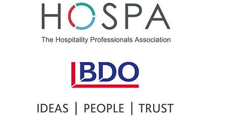 FINANCE UPDATE (Webinar)- hosted by HOSPA and BDO Tickets