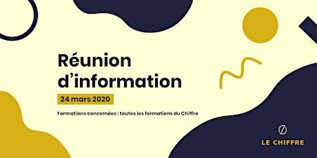Réunion d'information du Chiffre - 24 mars 2020 billets