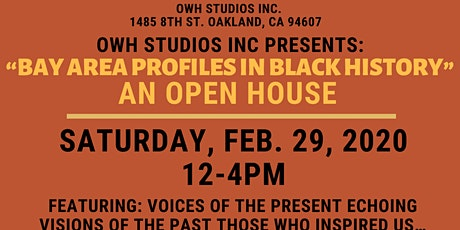 OWH February Open House tickets
