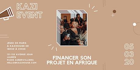 AFRIQUE - Financer son Projet Entrepreneurial billets