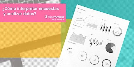 ¿Cómo interpretar encuestas y analizar datos? entradas