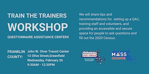 Franklin County Questionnaire Assistance Centers Training Workshop