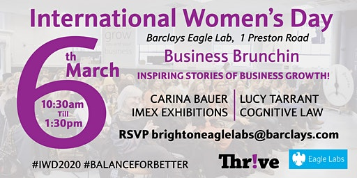 International Women's Day - Female Founders Business Brunchin'