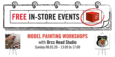 Model Painting Workshops - Intermediate Painting Effects tickets