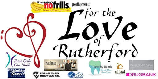 For The Love of Rutherford. Featuring Amy Hef, The Carolines, Lorna Lampman