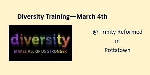 Diversity Training March 2020