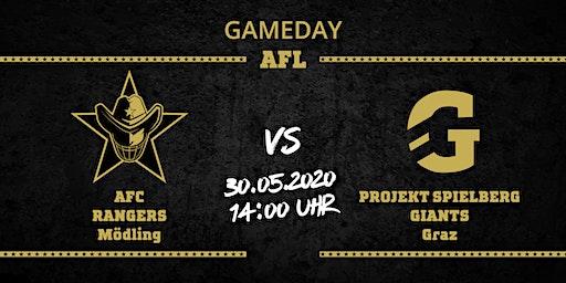 AFC RANGERS Mödling vs Projekt Spielberg Graz Giants