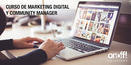 Curso de Marketing Digital y Community Manager entradas