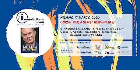 CORSO | L'AGENTE IMMOBILIARE DI SUCCESSO biglietti