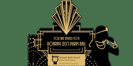 Roaring 20's Purim Ball tickets
