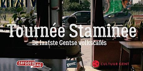 Tournée Staminee - minidocumentairereeks over De laatste Gentse volkscafés tickets