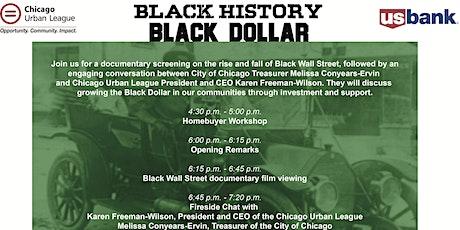 Black History, Black Dollar tickets