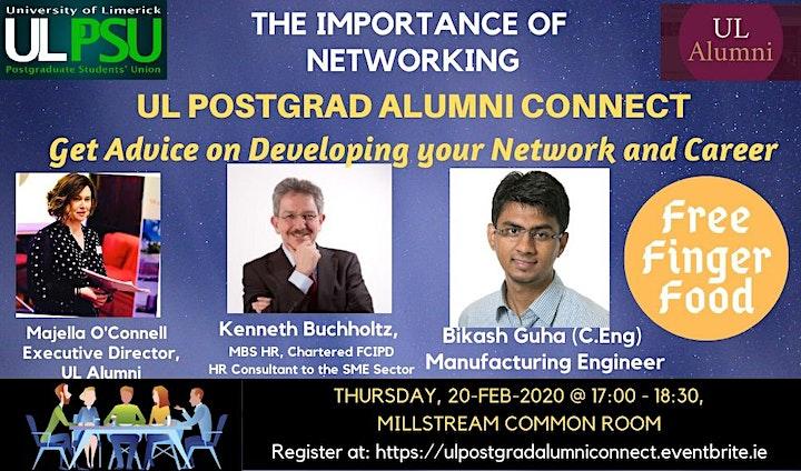 UL Postgrad Alumni Connect image