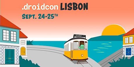 droidcon Lisbon 2020 bilhetes