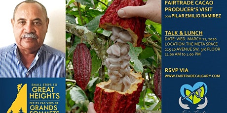 Meet the Cacao Farmer Talk and Lunch tickets