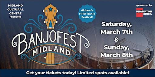 BanjoFest March 7 & 8, 2020