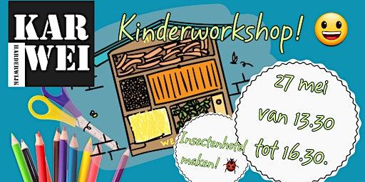 Kinderworkshop Insectenhotel Maken!