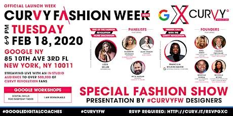 Live From Google NYC: CURVY X Google   CURVY Fashion Week Launch tickets