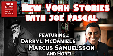 New York Stories with Joe Pascal - come and be part of our studio audience tickets