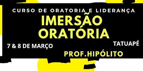 CURSO DE ORATÓRIA &  LIDERANÇA ingressos