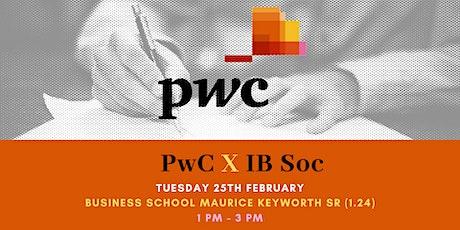 IBSoc X PwC tickets