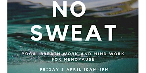 No Sweat! Yoga, Breathwork and Mindwork for Menopause Workshop