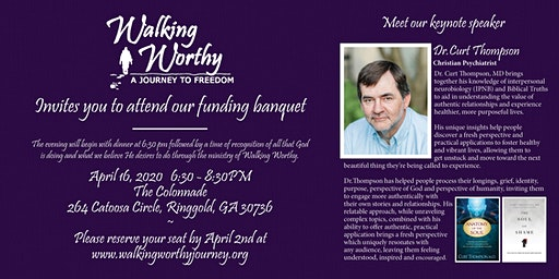 Walking Worthy: A Journey to Freedom Funding Banquet