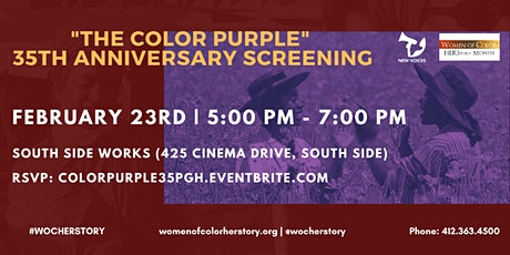 WOC Herstory Month: 35th Anniversary 'The Color Purple' Screening (PGH) tickets