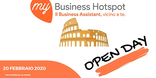 OPEN DAY - MY BUSINESS HOTSPOT ROMA
