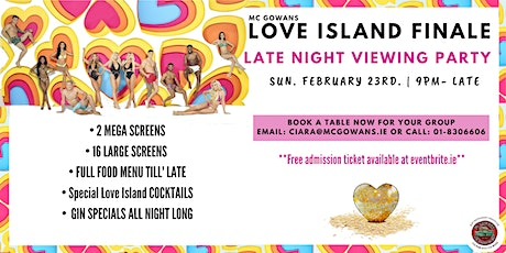 Love Island Finale: Late Night Viewing Party tickets