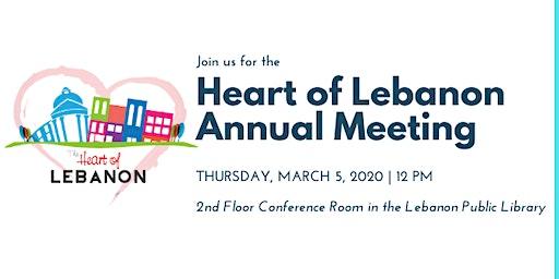 The Heart of Lebanon Annual Meeting