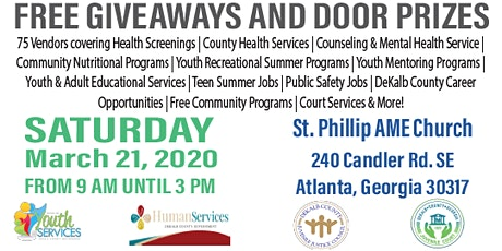 DeKalb County Children, Youth & Young Adult Summit tickets