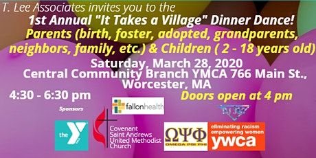 """1st Annual """"It Takes a Village Dinner Dance!"""" tickets"""