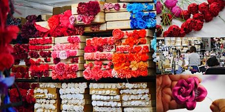 Rare Look Inside M&S Schmalberg, NYC's Last Custom Fabric Flower Factory tickets
