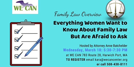 Family Law Overview: What Women Need to Know