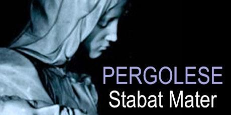 Stabat Mater de Pergolèse billets
