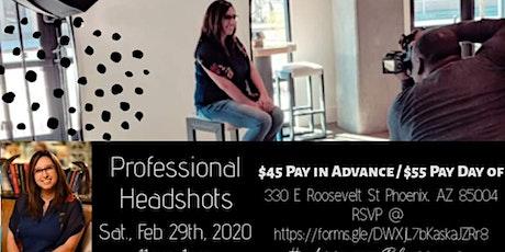 Professional Headshots tickets