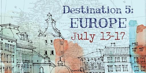 Around the World Summer Art Camp   Destination 5: July 13th - 17th