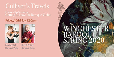 GULLIVER'S TRAVELS – Close-Up Session:  Getting to know the Baroque Violin tickets