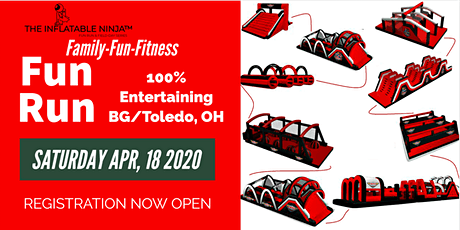 The Inflatable Ninja™ Fun Run & Field Day Series- Bowling Green, Ohio tickets