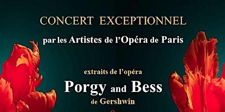 CONCERT EXCEPTIONNEL par les Artistes de l'Opéra de Paris tickets