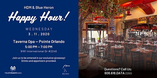 HIMSS Happy Hour (HDM & Blue Heron)