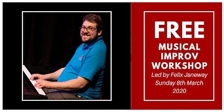 FREE Musical Improv Workshop tickets