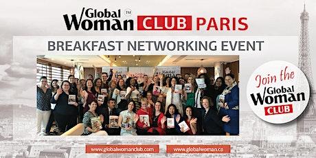GLOBAL WOMAN CLUB PARIS: BUSINESS NETWORKING BREAKFAST - APRIL tickets