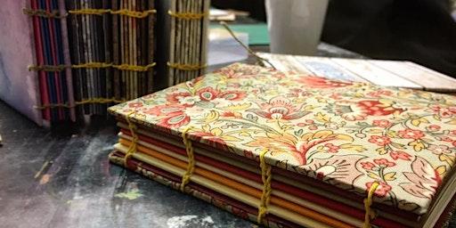 Upcycled Bookbinding: Coptic Bookbinding