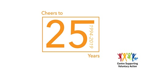 Cheers to 25 years - Charity Update tickets