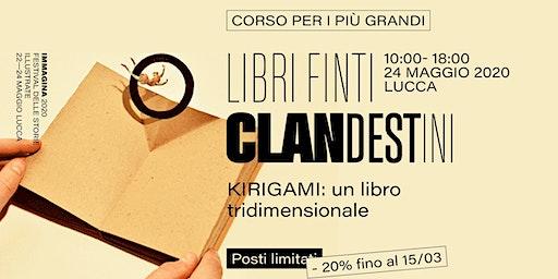 Libri finti clandestini: Kirigami — Corso per i più grandi
